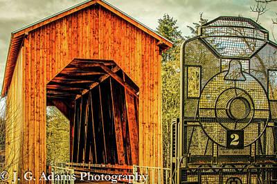 Chambers Railroad Bridge Art Print