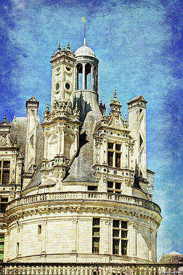Photograph - Chambord Tower 1 - Vintage Version by Weston Westmoreland