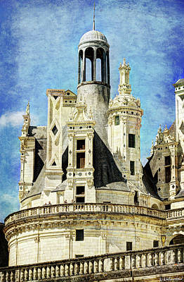 Photograph - Chambord Tower 2 - Vintage Version by Weston Westmoreland