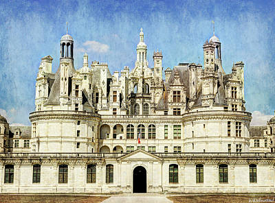 Photograph - Chambord Towers - Vintage Version by Weston Westmoreland