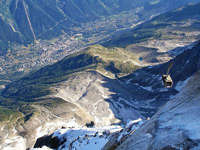 Photograph - Chamonix From The Sky by Ferran Serra
