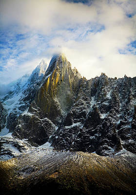 Photograph - Chamonix by Lucian Capellaro