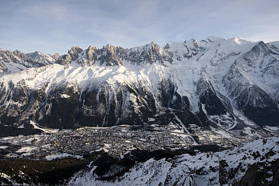Photograph - Chamonix Village In The French Alps by Pierre Leclerc Photography