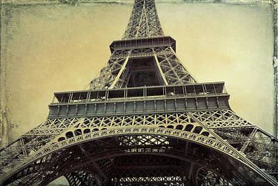 Photograph - Champ De Mars Grunge by JAMART Photography