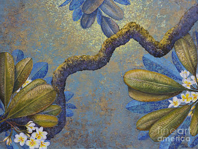Champa Art Print by Yuliya Glavnaya
