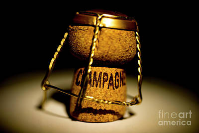 Photograph - Champagne Cork by Mats Silvan