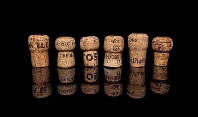 Photograph - Champagne Corks No. 1 by Ryan Wyckoff