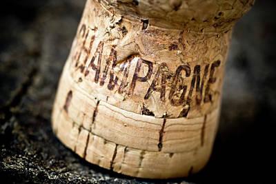 Wine Deco Art Photograph - Champagne by Frank Tschakert