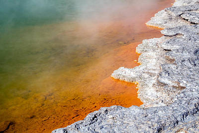 Photograph - Champagne Pool by Nicholas Blackwell