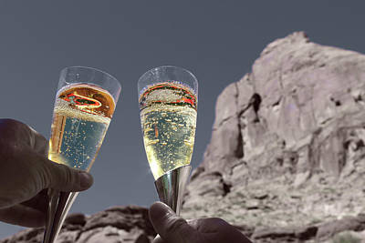 Champagne Glasses Photograph - Champagne Wish by Angie Wingerd