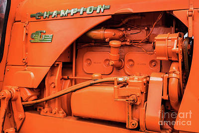 Photograph - Champion 9g Tractor 02 by Rick Piper Photography