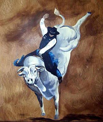 Champion Ride Art Print by Glenda Smith
