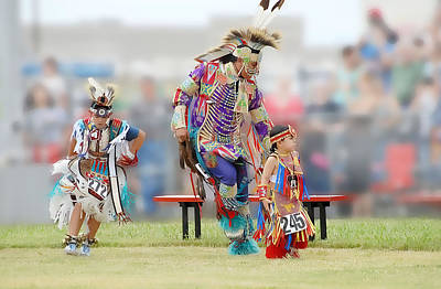 Photograph - Championship Pow Wow - Grand Prairie Texas by Dyle Warren