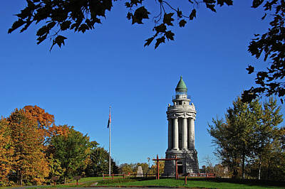 Crown Point New York Photograph - Champlain Memorial Lighthouse by Ben Prepelka