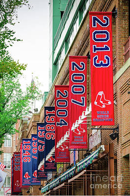 Fenway Park Photograph - Champs Again by Mike Ste Marie