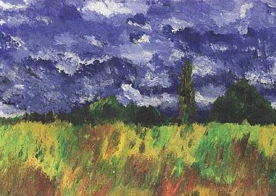 Painting - Champs De Ble by Michael Canning