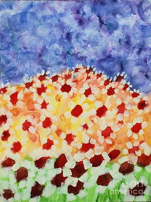 Painting - Champs De Marguerites - 01 by Variance Collections