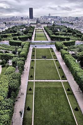 Photograph - Champs De Mars - Paris by Nikolyn McDonald