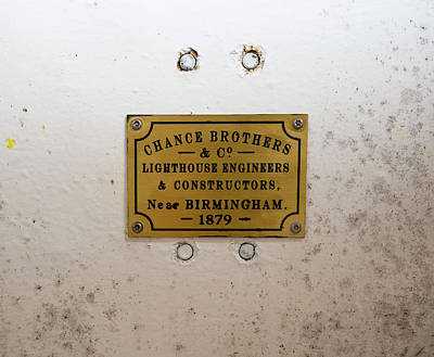 Photograph - Chance Brother Lighthouse Engineers  by Steven Ralser