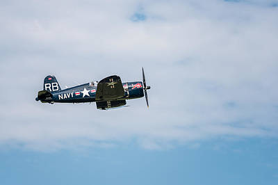 Chance Vought F4u-4 Corsair Art Print