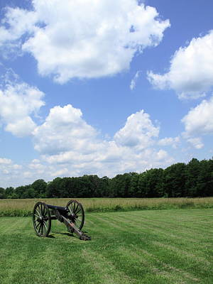 Chancellorsville Battlefield Print by Frank Romeo