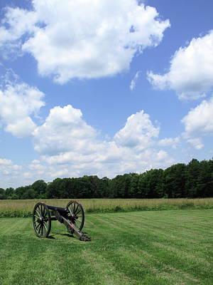 Chancellorsville Battlefield Art Print by Frank Romeo