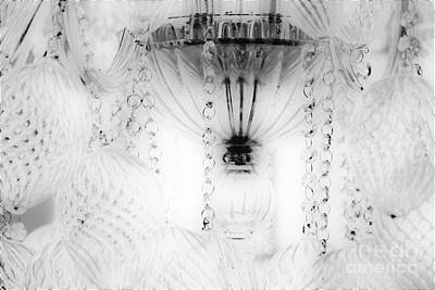 Photograph - Chandelier by Merle Grenz