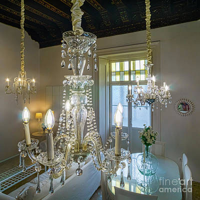Photograph - Chandeliers Transatlantic Company Delegation Cadiz Spain by Pablo Avanzini