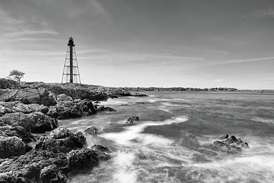 Photograph - Chandler Hovey Park Lighthouse by Brian Hale