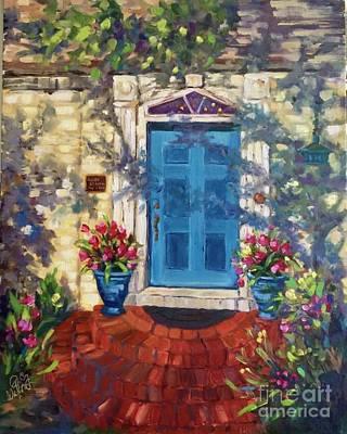 Painting - Chandor Gardens Door by Patsy Walton