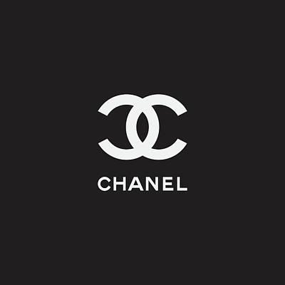 Moda Digital Art - Chanel - Black And White 02 by Alta Vita