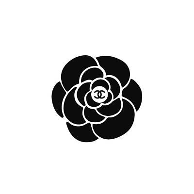 Fashion Digital Art - Chanel Camellia Iv by Alta Vita