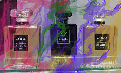 Chanel Coco Abstract Art Print