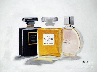 Chanel Collection Art Print