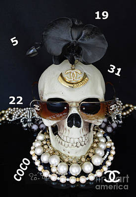 Human Mixed Media - Chanel Halloween by To-Tam Gerwe