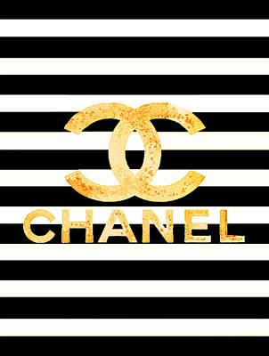 Fashion Wall Art Printables Coco Chanel