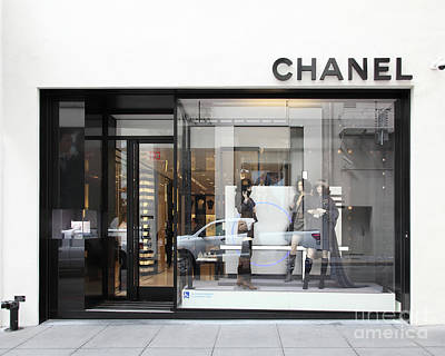 Photograph - Chanel Maiden Lane San Francisco California 5d17791 by San Francisco Art and Photography