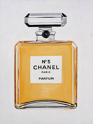 Chanel Me Art Print by Denise H Cooperman