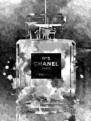 Recently Sold - Still Life Royalty-Free and Rights-Managed Images - Chanel No. 5 Dark by Daniel Janda