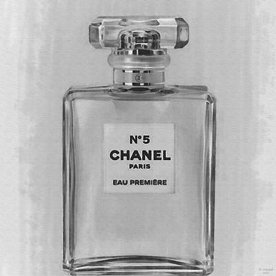 Digital Art - Chanel No 5 Eau De Parfum 3 by David Stasiak