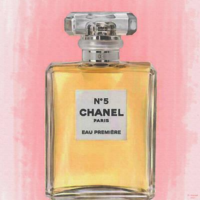 Chanel No 5 Eau De Parfum Art Print