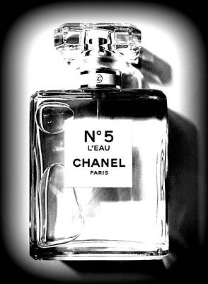 Photograph - Chanel No. 5 L'eau by Katy Hawk