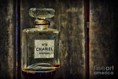 No. 5 Photograph - Chanel No. 5 by Paul Ward