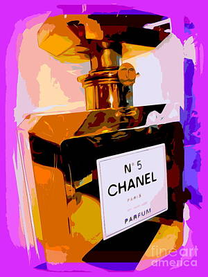 Digital Art - Chanel No.5 by Ed Weidman