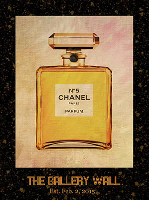 Photograph - Chanel No.5 Parfum Bottle 1 by Sandi OReilly
