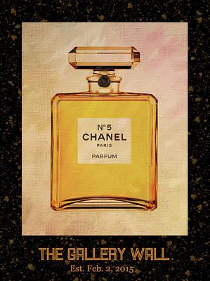 Photograph - Chanel No.5 Parfum Bottle 1 by Sandi OReilly