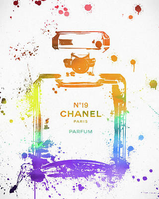 Gabrielle Painting - Chanel Number Nineteen by Dan Sproul
