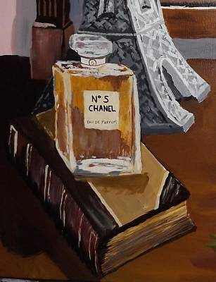 Painting - Chanel by Pamela Anderson