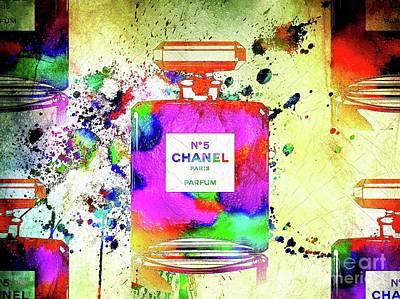 Giuseppe Cristiano Royalty Free Images - Chanel Parfum Paris Royalty-Free Image by Daniel Janda