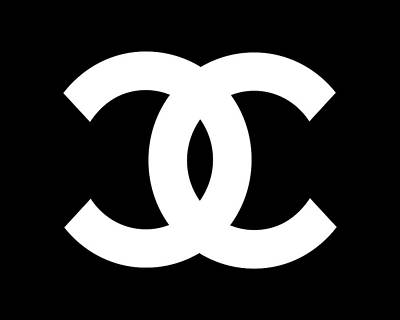Chanel Symbol Black-white Original